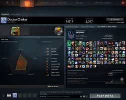 sold selling dota 2 account 5017 mmr very cheap