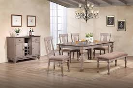 formal dining room set. 2 Tone Brown Wood Transitional Configurable Formal Dining Room Set (Table, Chairs, Bench R