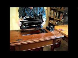 How To Install Sewing Machine In Table