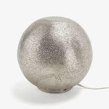 ball table lamp. filisky ball table lamp silver enlarge image. exit full screen