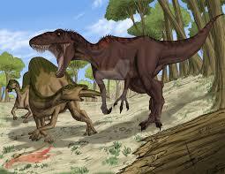 carcharodontosaurus size carcharodontosaurus vs ouranosaurus by julius2611 on deviantart