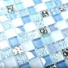iridescent glass mosaic tile crystal tiles blue interior le bathroom kitchen a