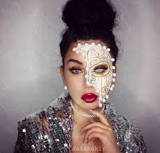 masquerade mask makeup costume daiana kir daianakir