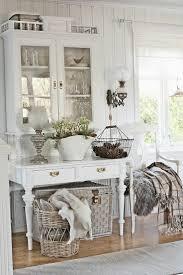 VIBEKE DESIGN beautiful arrangement of white cottage chic decor