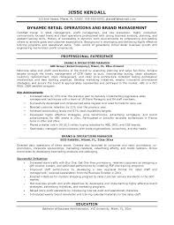 Retail Operation Manager Resume – Eukutak