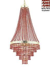 pink chandelers