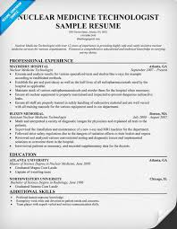 medical technologist resume