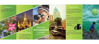 make tri fold brochure web courses bangkok learn graphic design making tri fold brochure