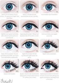 step by step gyaru eye makeup note step applying lower false eyelashes this is another piece to the total look which adds up to the unique gyaru style