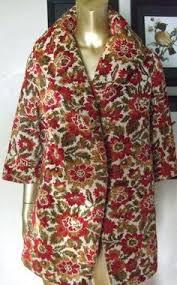 carpet jacket. items similar to vintage tapestry carpet princess boho gypsy bracelet sleeve shawl collar flower coat on etsy jacket r