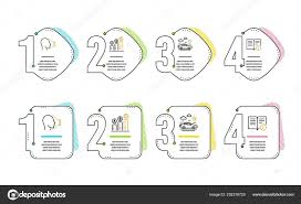 Graph Chart Car Travel Face Icons Simple Set Technical Info
