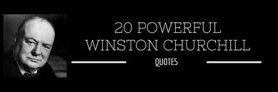 Churchill Quotes Fascinating Churchill Quotes Luzdelaluna