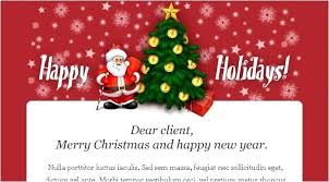 Holiday Ecard Template More Landing Page Email Newsletter Templates