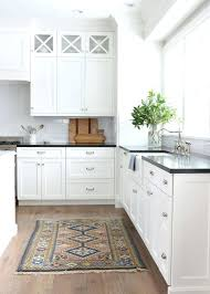 White Kitchen Cabinets With Black Countertops Enchanting White Kitchen Black Countertops Amusing White Kitchen Cabinets With