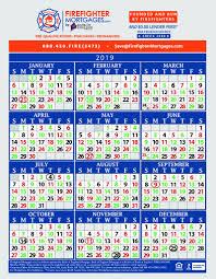 Firefighters Shift Calendar 2020 Firefighter Shift Calendar Firefighter Calendar