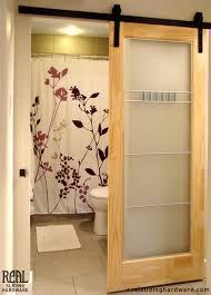 doors bathroom diy sliding bathroom doordiy door inside the most awesome with