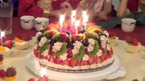 Happy Birthday Celebration With Jennys Beautiful Cake Youtube