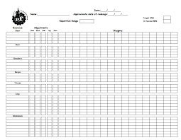 workout tracking spreadsheet excel personal training tracking sheet workout log excel katieburns