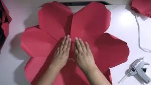diy large paper flower 7 petal paper flower cbm template 46