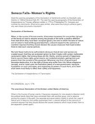 declaration of sentiments essay elizabeth cady stanton declaration of sentiments essay definition philosophy on life essay consumer behavior essay essay