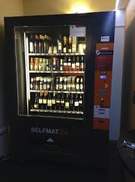 Beer Can Vending Machine Interesting Wine And Beer Vending Machine Picture Of IQ Hotel Roma Rome