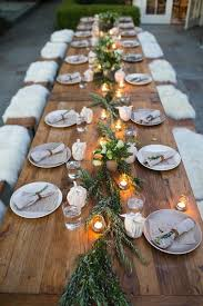 wedding table decorations ideas. Country Rustic Wedding Table Decoration Ideas With Floral And Candle Lights Decorations B