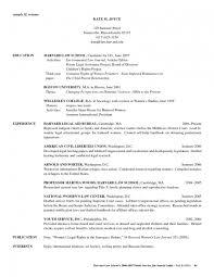Law School Resume Example Law School Resume Example Extraordinary