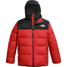 North Face Boys Jacket Size Chart The North Face Boys Double Down Triclimate Tnf Red Xs