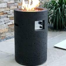 outdoor fire column global lava concrete propane