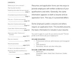 Tips For A Good Resume Noxdefense Com