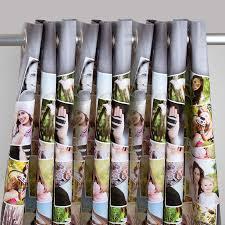 custom printed curtains collage