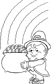 Small Picture Leprechaun Coloring Pages 33 Coloring Kids