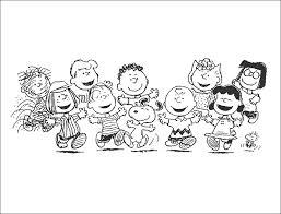 Tutti I Personaggi Di Peanuts Charlie Brown Da Stampare E Da
