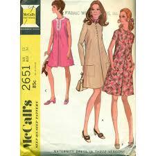 Maternity Dress Patterns New Vintage Maternity Dresses Sewing Pattern McCalls No 48 Angel