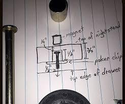 Hidden Drawer Lock 3 Secret Drawer Lock 6 Steps