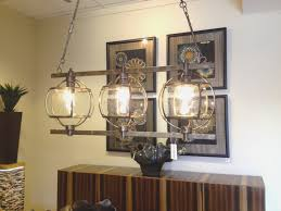 dining room view stained glass light fixtures