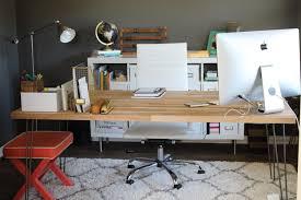 butcher block desk office