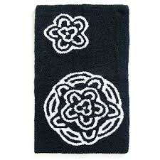 contour bath rug reversible bath mat home chrysanthemum cotton reversible bath rug black white reversible cotton