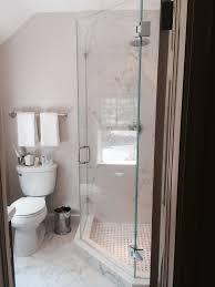 bathroom remodeling arlington va. Beautiful Remodeling Arlington Bathroom Remodel Glass Door Corner Shower In Remodeled Bathroom On Remodeling Va M
