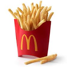 Mcdonalds French Fries Calories Nutrition Facts Calorie