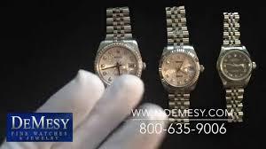 Rolex Datejust Size Comparison Ladies 26mm Midsize 31mm Mens 36mm Review