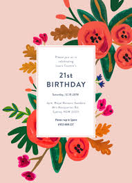 Invitations Card For Birthday Floral Birthday Dp Birthday Invitations