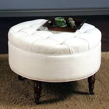 round leather ottoman coffee table. Cute Ottoman Round Leather Coffee Table Colorful Ottomans F