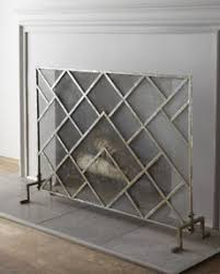 Best 25 Modern Fireplace Screen Ideas On Pinterest  Mantle Art Modern Fireplace Screens