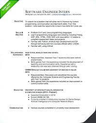 Software Developer Resume Template Entry Level Free Word Objective ...