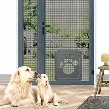 screen door screen dog door screen door cat screen door protector for sliding door automatic lock