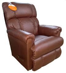 la z boy pinnacle chestnut leather recliner clearance 681083