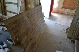 image of wood wall paneling home depot