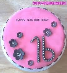 Sweet 16 Birthday Cake With Girls Name 2happybirthday