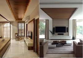 modern living room ceiling designs living room with furniture ceiling is wooden mixed with white pop